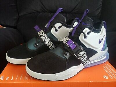 new concept df76f 770ce New In Box Nike Air Force 270 Black court Purple Size Men s 10