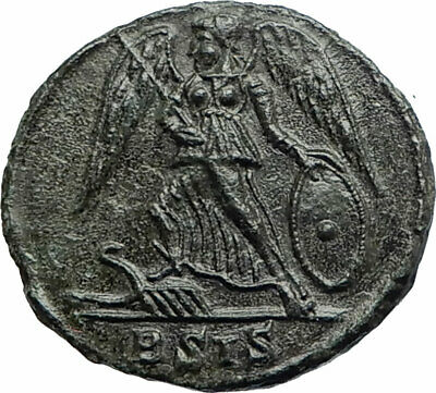 CONSTANTINE I the Great  Founds CONSTANTINOPLE 330AD Ancient Roman Coin  i76171