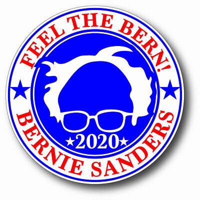 Feel The Bern Bernie Sanders For President 2020 Campaign Sticker Democrat