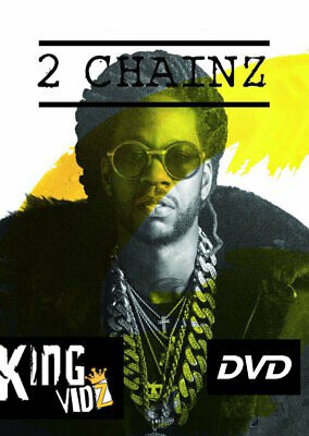 2 Chainz MUSIC VIDEO Collection DVD ft. The Weeknd, Juicy J, Young Jeezy, Drake