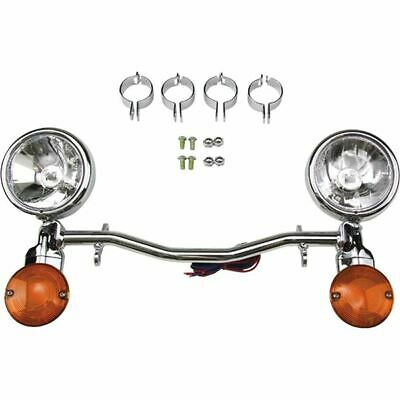 National Cycle Spot Light Bar - HARLEY-DAVIDSON DYNA GLIDE WIDE GLIDE 1993 -