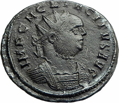 TACITUS 275AD Rare Authentic Genuine Ancient Roman Coin Felicitas i76177