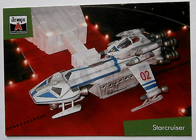 Gerry Anderson's Lost Worlds - Card #50 - STARCRUISER - Unstoppable Cards 2015
