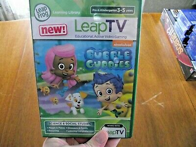 LEAP TV BUBBLE guppies game new sealed Leap Frog