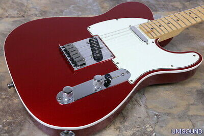 Fender American Deluxe Telecaster N3 Candy Apple Red 2013
