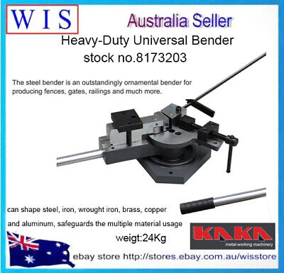 Heavy-Duty Universal Bender, Flat, Square & Round Bar Metal Bender-8173203