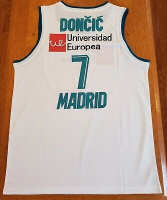 NWT Men s Luka Doncic Real Madrid Euroleague Basketball Jersey (XXL) W   Defect 4169bc54c