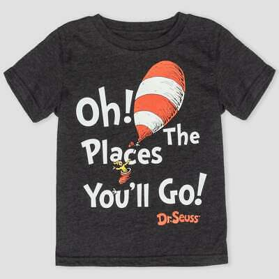 Dr Seuss Oh The Places You'll Go Shirt Size 18 Months 2T 3T 4T New!