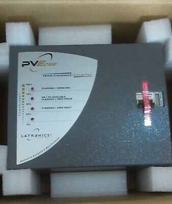 Latronics PVE 1200 Grid Connect Inveter - Factory Refurbished.