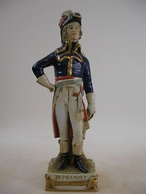 Dumouriez - Napoleon Soldier Figurine Bust French German Grand Tour Style