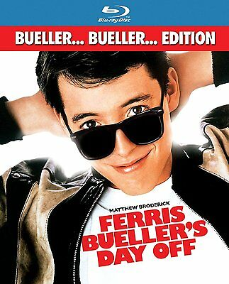 BRAND NEW- Ferris Bueller's Day Off (BLU-RAY Disc, 2013) Free 1st Class Shipping