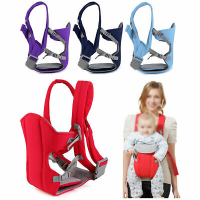 Breathable Infant Baby Carrier Backpack Front Back Rider Sling Comfort Wrap Bag