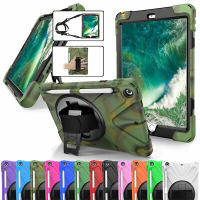 Shockproof Hard Case Cover with Screen Protector For iPad 9.7 6th 5th Generation