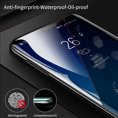 For Samsung Galaxy S10 Plus S10e PET Soft Clear Screen Protector Front Back Film