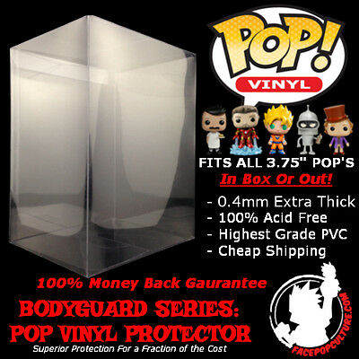 "Funko 3.75"" Pop Vinyl Protector Display Case High Grade Extra Thick Cheap Ship"