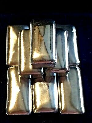 Standard 1 Oz. ~.999 Fine Bismuth Hand-Poured Bullion Bar-Blank