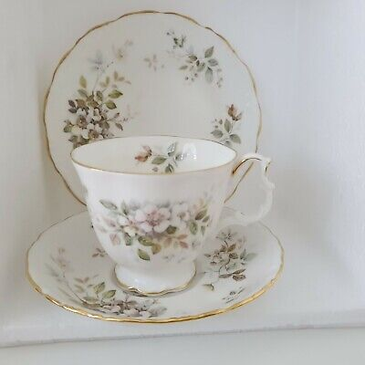 Royal Albert Haworth Trio Tea Cup Saucer Side Sandwich Plate