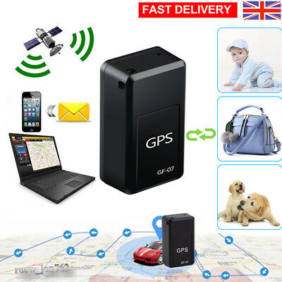 GF-07 Mini GPS Locator Long Standby Magnetic SOS Tracker Device Voice Recorder