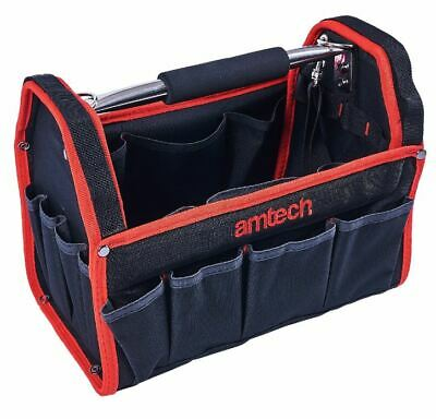 "Am-Tech  13"" 330Mm Tool Box Chest Bag Storage Tote Bag Caddy Holdall Case N0541"