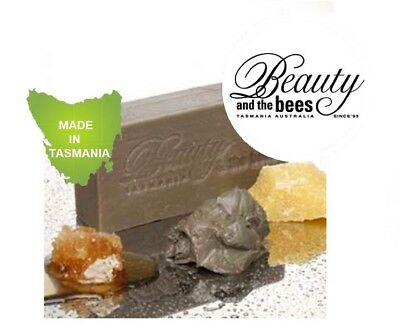 PALM OIL FREE Beauty and the Bees Dead Sea Mud and Leatherwood Honey Soap Bars