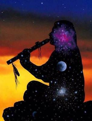 NATIVE INDIAN FLUTE MUSIC CD RELAXATION REIKI YOGA MEDITATION STRESS