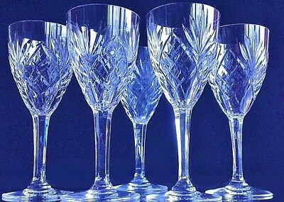 cristal crystal kristall st louis  6 verres