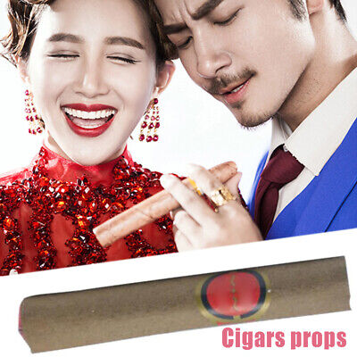 A8F6 Fake Cigarette Cigar Toy Smoke Festival Party Adult Fun Prank Tricky Props