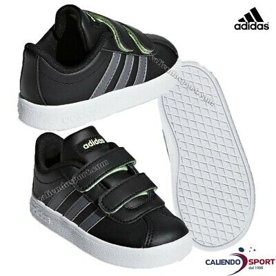 ADIDAS VL COURT 2.0 Infant Baby Toddler Kids Boys Crib Shoe