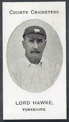 Taddy-County Cricketers Cricket 1907- Yorkshire - Lord Hawke