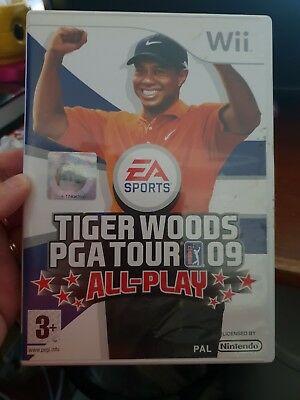 Tiger Woods PGA Tour 09 All-Play -  NINTENDO WII -  FREE POST