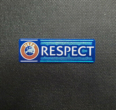 UEFA Respect Badge 2018 / 2019 Patch Logo CL Toppa Respekt Champions League