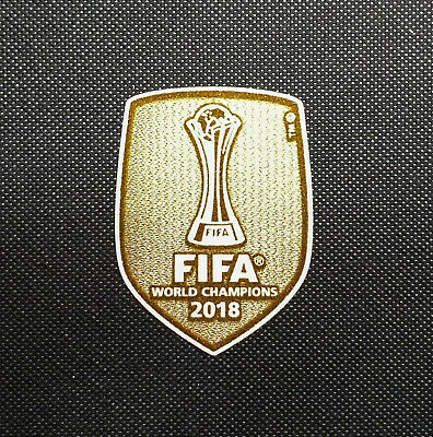 Fifa CWC 2018 Badge Logo Toppa Patch Club World Champion Real Madrid