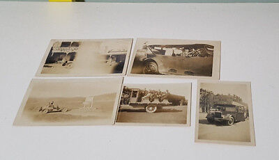 Lot Of Vintage Photos! Cars & Landscapes! Old 1928 Photos! Old Cars!
