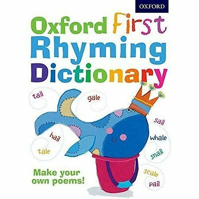Oxford First Rhyming Dictionary by Oxford University Press (Mixed media...