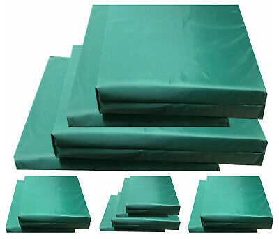 Seat Pads Chair Cushion Seat Pads OUTDOOR Zipped Garden Patio REMOVABLE COVER!