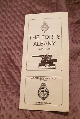 The Forts Albany - 1893-1993 - Vintage Pamphlet
