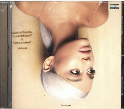 Ariana Grande - Sweetener (CD MUSIC ALBUM, 2018) *NEW/SEALED* FREE P&P