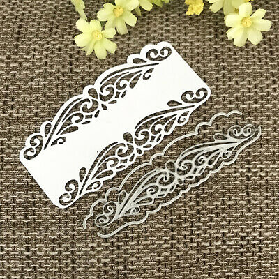 ALS_ Flower Background Metal Cutting Dies DIY Scrapbooking Paper Cards Stencil R