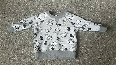 Snoopy Baby Top 6-9 months