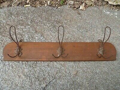 Antique Coat Rack  Wood Kitchen Rack  Master Stamped