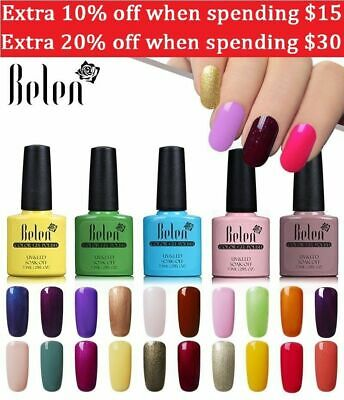 Belen UV Nail Polish Gel Lacquer Manicure Nails Soak Off Color Semi Permanent