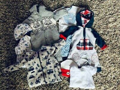 Bundle Of Baby Boys Clothes Size 3-6 Months