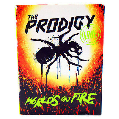 The Prodigy - Live Worlds On Fire   Japan  Cd+Dvd   T4827