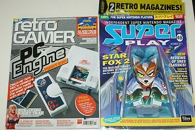 Retro Gamer Load issue 172 Super Play issue 48 RARE MINT SNES