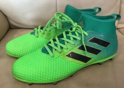 san francisco ec919 86144 ADIDAS ACE 17.3 Soccer Cleats Shoes US 9 UK 8.5 Mens Boots Green PRB 698001