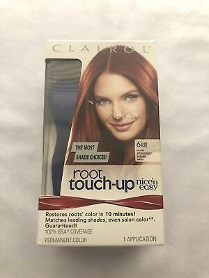 CLAIROL ROOT TOUCH-UP Nice n easy-6Rr Matches Intense Red auburn ... 697a11048a