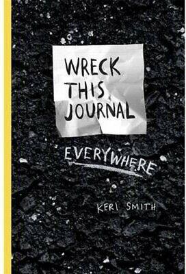 Wreck This Journal Everywhere by Keri Smith NEW Paperbook