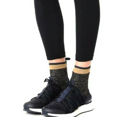 a47968ade198a  250 Adidas Ultra Boost X Mid By Stella McCartney BY1834 8.5 Knit Navy Gold