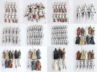 LOT star wars Clone Pilot TROOPER Revenge Of The Sith 501st Figure Obi-Wan