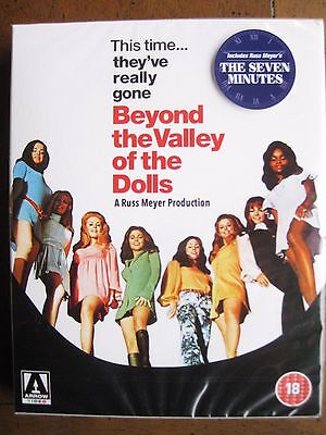 BEYOND THE VALLEY OF THE DOLLS Limited Edition (1970) (REGION B Blu-Ray) NEW!!!